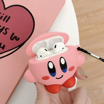 $ CDN8.43 • Buy For AirPods Case Protective 3D Kirby Silicone Earphone Charging Case Cover