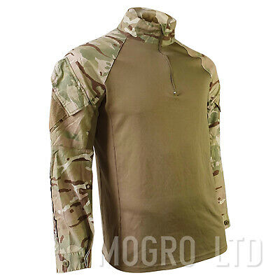 Genuine British Army MTP Multicam UBACS Under Body Armour Combat Shirt Coolmax • 16.95£