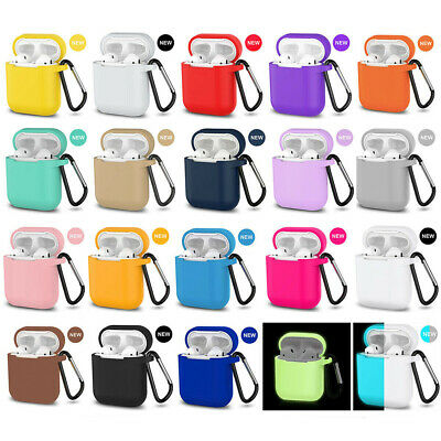 $ CDN1.78 • Buy AirPods Silicone Case + Keychain Protective Cover Skin For New AirPod Case