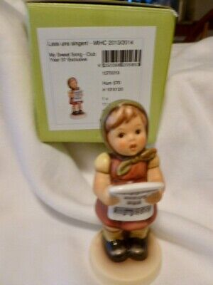 $59.99 • Buy M.I. Hummel  My Sweet Song  No.570 Club Girl Figurine  4  Tall Excellent W/box