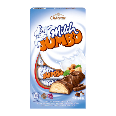 $ CDN15.66 • Buy Chateau Milk Jumbo Chocolate With Milk Filling 150g NEW