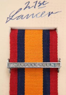AU15.14 • Buy Qsa Queens South Africa Medal Ribbon Bar Clasp Wittebergen Boer War Campaign