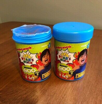 AU12.82 • Buy Ryans World Mystery Goo Series 2 ( Set Of 2 ) One Is Missing Cap But Has Seal