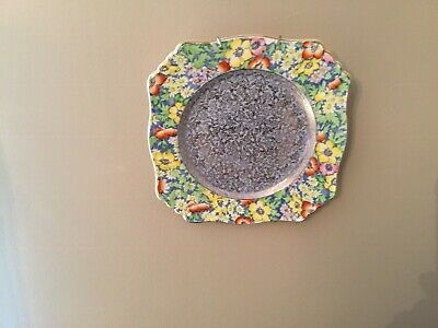 $ CDN28 • Buy Royal Winton Plate Grimwades Anemone Chintz Art Deco