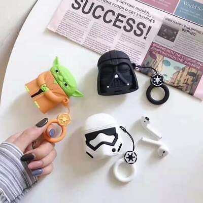 $ CDN6.60 • Buy For AirPods Case Protective 3D Star Wars Silicone Earphone Charging Case Cover