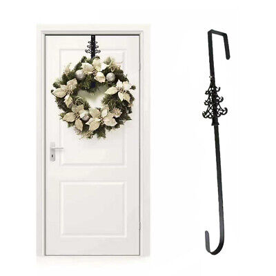 Christmas Wreath Door Hanger Strong Metal Garland Door Hook Decoration 38cm 15  • 4.95£