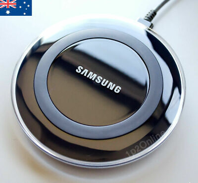 AU23.89 • Buy Genuine Samsung Galaxy S10 S9 S8 S7 S6 + Edge Wireless Qi Charger Charging Pad