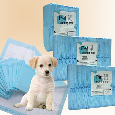 £10.99 • Buy Puppy Dog Cat Pet Training Pads Dry Thick Absorption Pet Toilet Trainer Pads