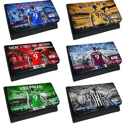 Personalised Football Tobacco Pouch Baccy Wallet Mens Christmas Birthday Gift AF • 9.95£