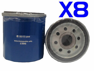 AU21 • Buy 8X Oil Filter Suits Ryco Z386 // (F386