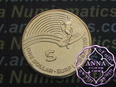 AU3.95 • Buy NEW 2019 S For Surf Life Saving $1 X 1 Dollar , EX Mint Bag UNC