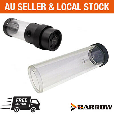 AU52 • Buy Barrow Water Cooling 65mm Cylinder Reservoir D5 Pump Combo Acrylic 130mm 210mm