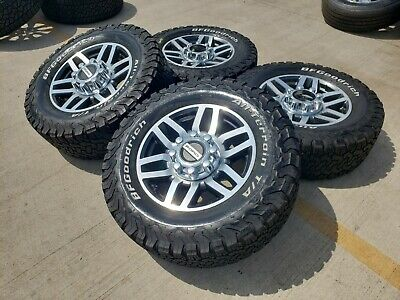 $1399 • Buy 20  Ford F-250 F-350 OEM FX-4 Rims Wheels Tires 3644 2005 2006 2007 2008 2009
