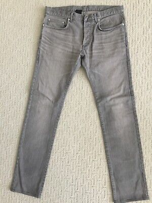$190 • Buy Dior Homme Jeans 17.5cm - Gray - Sz 32 - Made In Japan