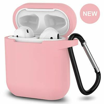 $ CDN22.51 • Buy 2019 Newest AirPods Case,360°Protective Silicone AirPods Accessories (Pink)
