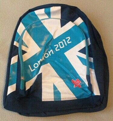 Official BNWT London 2012 Olympic Games Rucksack/Backpack **FREE POSTAGE** • 7.95£