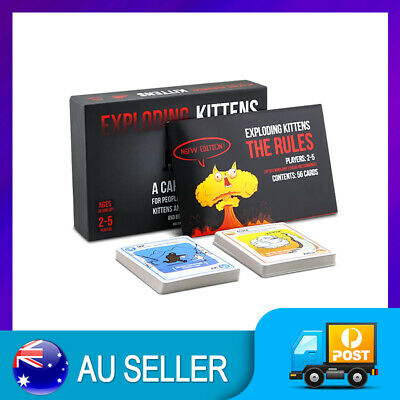 AU9.98 • Buy EXPLODING KITTENS NSFW Edition Card Party Family Game Goats NEW GIFT NEW AU