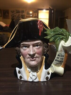 Royal Doulton Character Jugs Captain Bligh • 59.95£