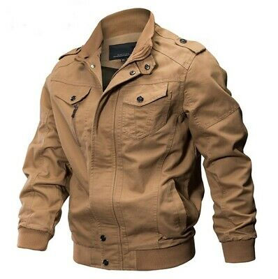 $42.49 • Buy M65 Mens Combat Field Jacket Vintage Type Military Army Coat Quilted Liner Olive