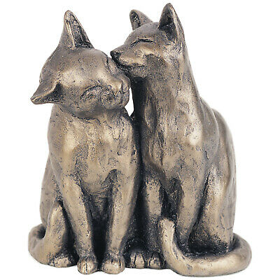 AU86.52 • Buy Frith Sculpture - Yum Yum And Friend In Bronze Resin By Paul Jenkins In Gift Box