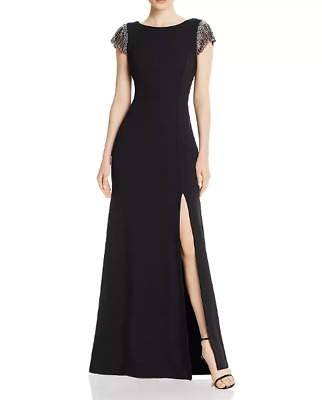 $97.49 • Buy Aidan Mattox Embellished Scoop-Back Gown MSRP $495 Size 6 # 1B 814 NEW