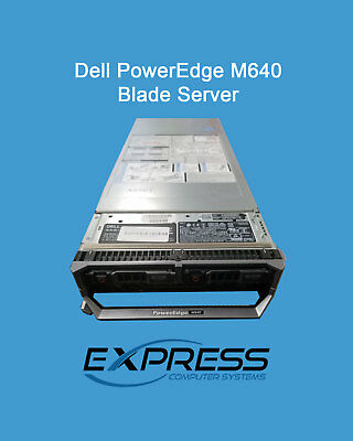 $1675 • Buy Dell PowerEdge M640 Blade 1x Bronze 3104 1.7Ghz 6C 8GB No HDDs PERC S140