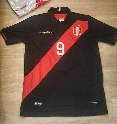 Peru Soccer Jersey Black 2019 New In Stock In Miami. Size XL • 29.99$