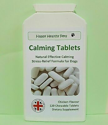 £5.95 • Buy Dog Calming Tablets Effective Against Anxiety Stress Hyperactivity Loud Noises