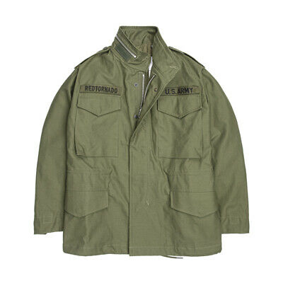 $176.69 • Buy Military M65 Field Jacket Men's OG107 Army Green Overalls Vintage Trench Coat