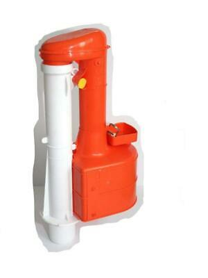 Dudley Turbo 44 9 Inch Siphon Duoflush WRAS Approved For Narrow Cisterns • 37.57£