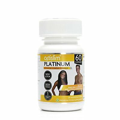 Actislim Platinum The UK's 1 Weight Loss Slimming Pill , Contains Garcinia Cambo • 46.58£