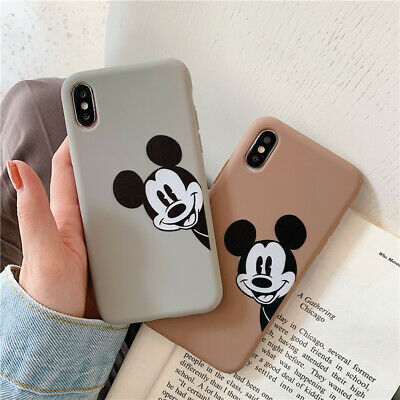 AU4.99 • Buy Cute For IPhone 12 11 Pro Max XS X Disney Mickey Mouse Soft TPU Case Armor Cover