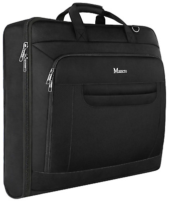 £35.48 • Buy Mancro Carry-on Garment Bag, 46 Inches Suit Carrier For Men And Women,Waterproof
