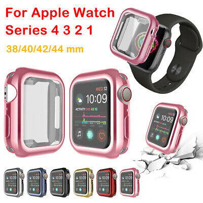 $ CDN6.45 • Buy Screen Protector Cover Case For IWatch Apple Watch Series 4 3 2 1 38/40/42/44mm