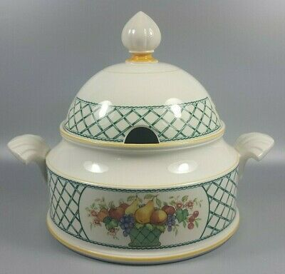 Villeroy And Boch Basket Covered Vegetable Dish / Tureen (perfect) • 39.99£