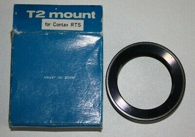 $ CDN34.60 • Buy T2 T-Mount SLR Lens Adapter Ring For Contax Yashica C/Y Y/C RTS Camera In Box