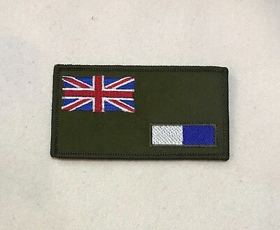 Royal Signals Zap Number & Blood Group Badge, R Sigs Corp, Army Patch, Hook Loop • 7£