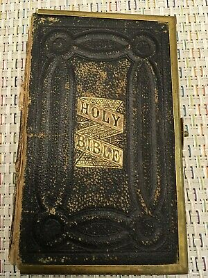 £50.72 • Buy The Holy Bible, Old And New Testaments, Eyre & Spottiswoode, Clasp Leather