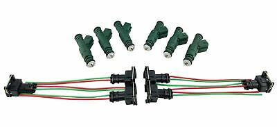 $ CDN142.45 • Buy Set 6 EV1 Fuel Injectors For Ford GM Pontiac BMW Audi VW 42LB 440cc 0280155968