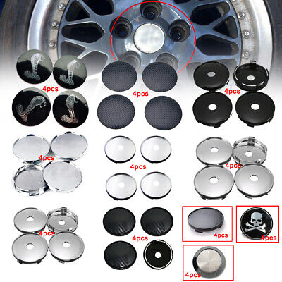 $ CDN2.86 • Buy 4x Universal Car Wheel Tire Rims Center Hub Caps Cover Decorative Accessories