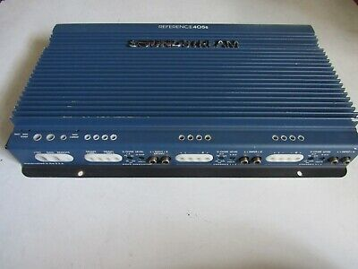 $ CDN569.29 • Buy Old School Soundstream Reference 405S 5 Channel Amp !