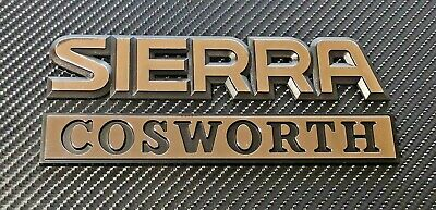 £39 • Buy Reproduction Ford Sierra Cosworth Badges Rs Sapphire 4x4