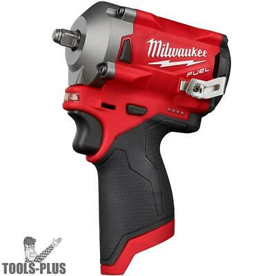 Milwaukee 2554-20 M12 FUEL Stubby Cordless 3/8  Impact Wrench (Tool Only) New • 169.50$