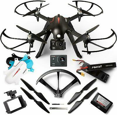 AU165.11 • Buy Force1 F100Gp Drones With Camera For Adults And Kids - Rc Drone W/ 1080P Hd