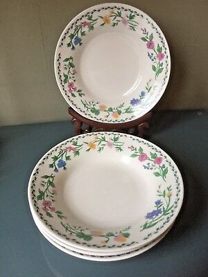 £19.99 • Buy Crown Dynasty 4 X Bowls Floral Pattern Backstamped Only £19,99 Free P&P Nice