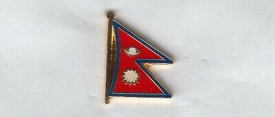 Nepal Flaggenpin,Flagge,Flag,Pin,Badge • 2.15£
