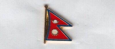 Nepal Flaggenpin,Flagge,Flag,Pin,Badge • 2.17£