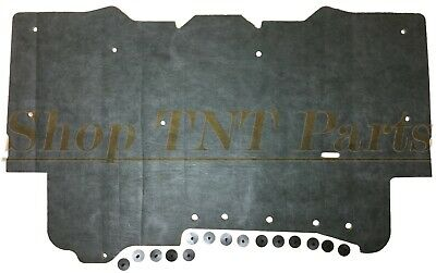$64.99 • Buy 1982-1992 Pontiac Firebird Trans Am Hood Insulation Pad W/ Clips