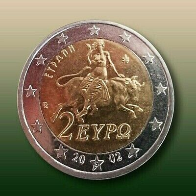 $ CDN1318.19 • Buy 2 Euro RARE Coin 2002 /  S  On The Star /  Unc.