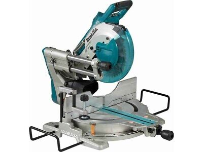 Makita 18v Twin Brushless 260mm Lxt Double Bevel Mitre Saw - Dls110 - Body Only • 720£